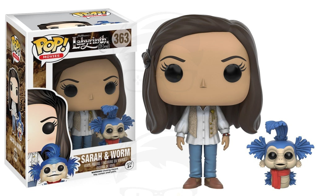 POP! Movies: Labyrinth - Sarah (w Worm)
