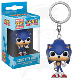 POP! Keychain Sonic the Hedgehog : Sonic with Ring
