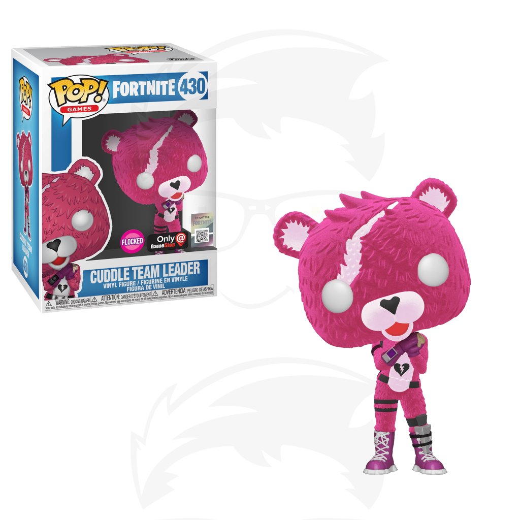 POP! Games: Fortnite S3 - Cuddle Team Leader (Flocked) (Exc)