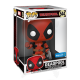 POP! Marvel: Deadpool Thumps Up (Red) (10 inch) (Exc)