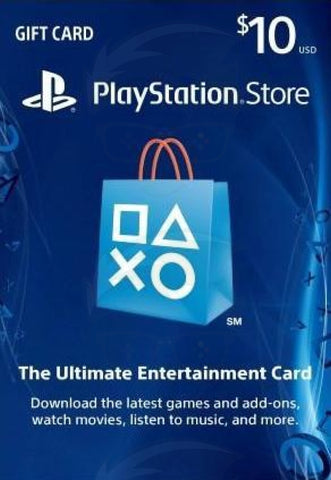 PlayStation Gift Card $10 (USA)