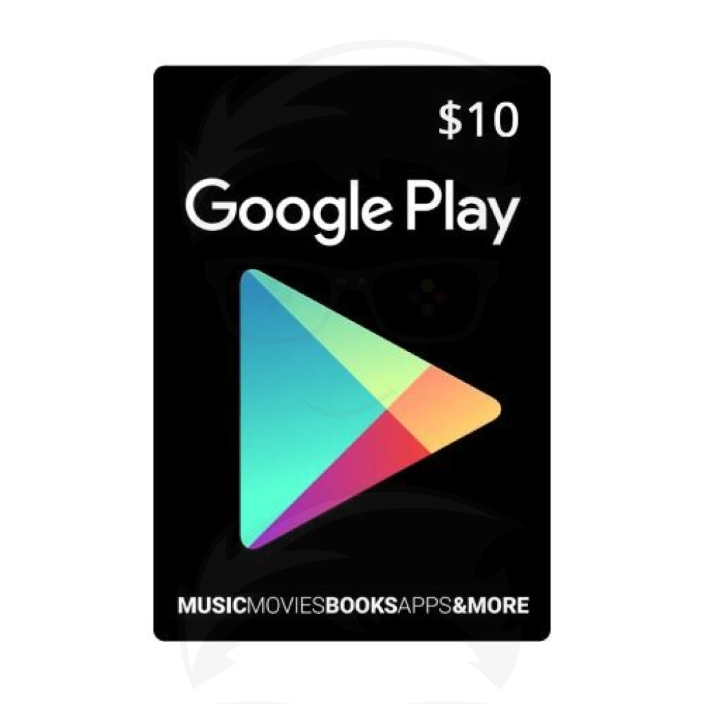 Google Play Gift Card 10$