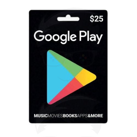 Google Play Gift Card 25$