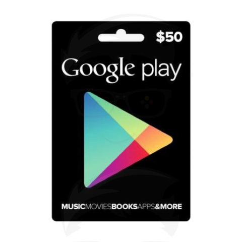 Google Play Gift Card 50$