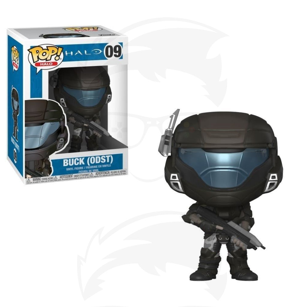 POP! Games: Halo - ODST Buck (Helmeted)