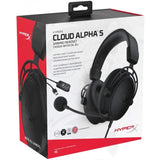 HyperX Cloud Alpha S 7.1 Virtual Surround Gaming Blackout