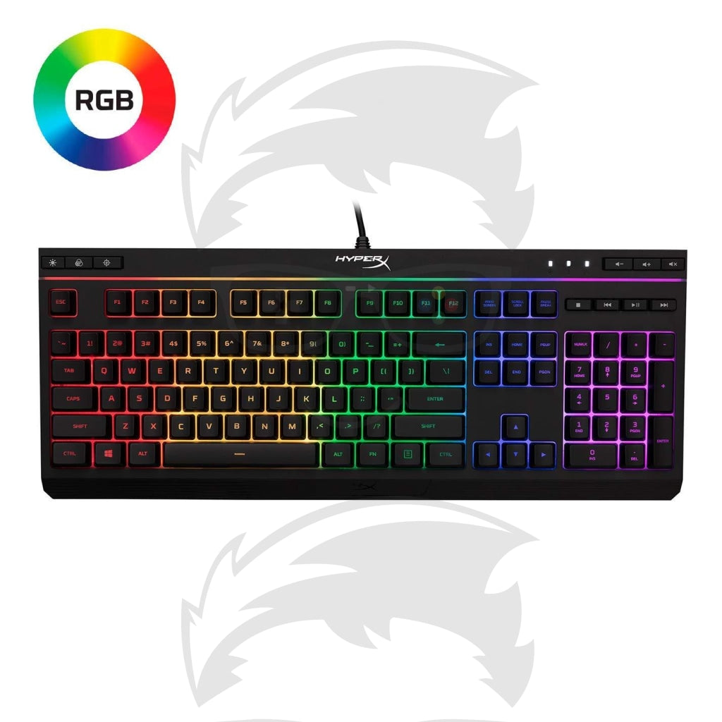HyperX Alloy Core RGB – Membrane Gaming Keyboard