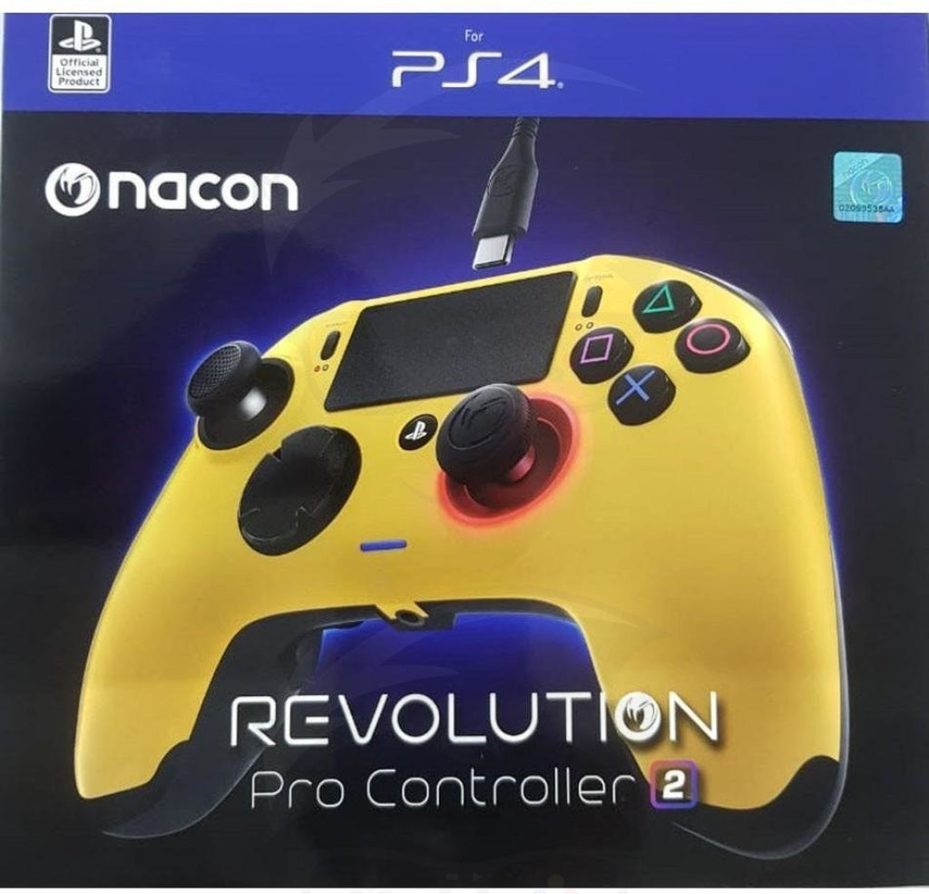 Nacon Revolution Pro Controller 2 - Gold - PlayStation 4