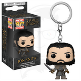 Pocket POP! Keychain : Game of Thrones - Jon Snow (Beyond the wall)
