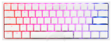 Ducky One 2 Mini Pure White - RGB LED 60% Double Shot PBT Mechanical Keyboard / blue switches