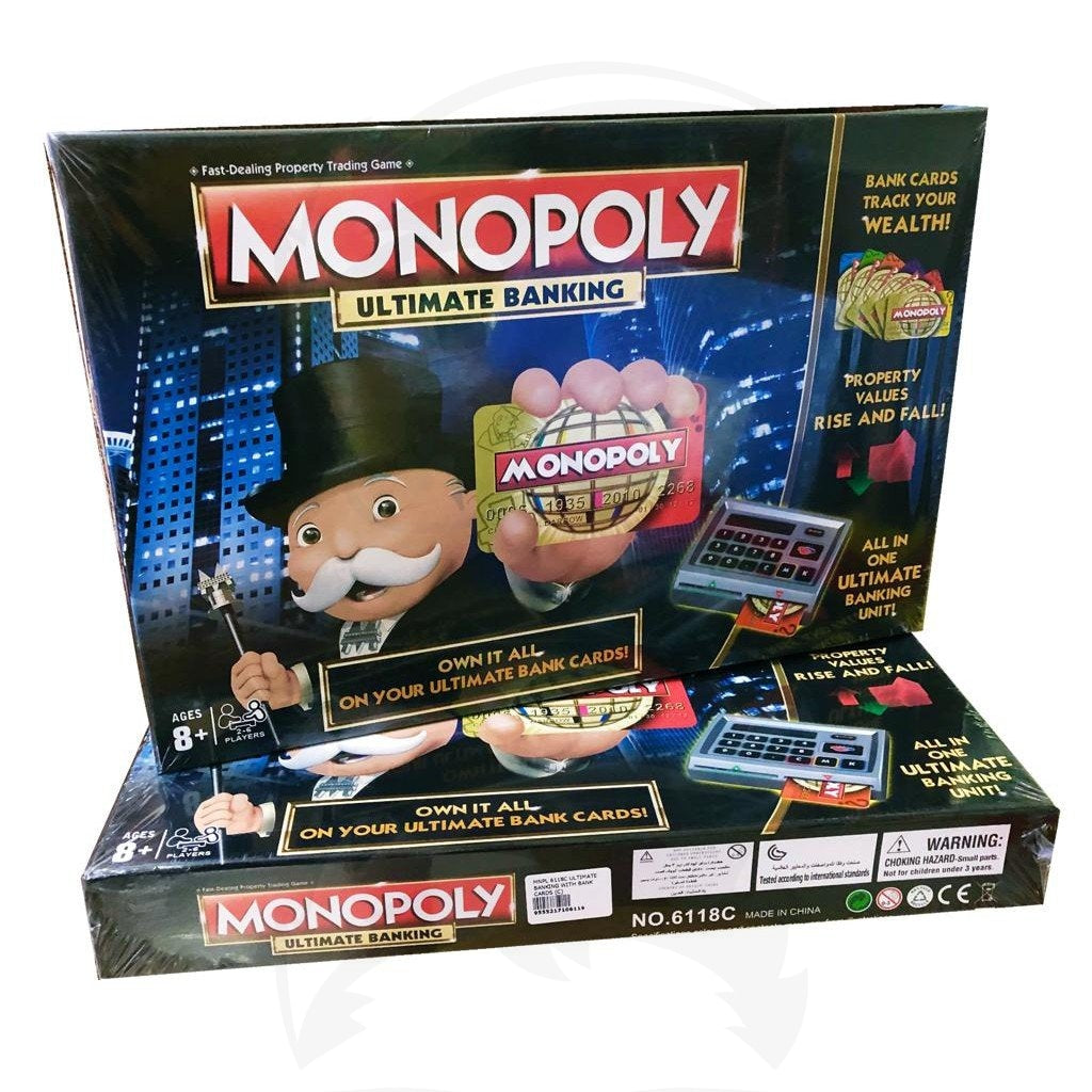 MONOPOLY Ultimate Banking Edition Game