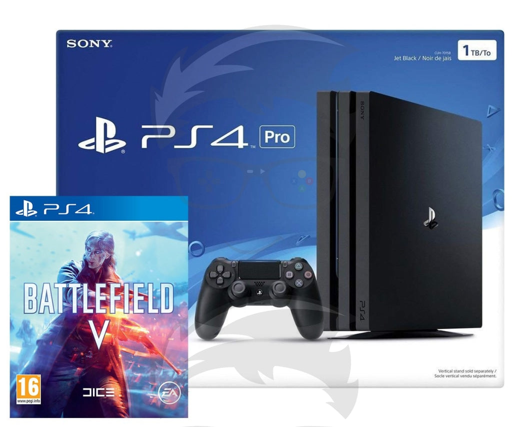 Playstation 4 1TB Pro with (Battlefield V)