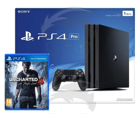 Playstation 4 1TB Pro with (Uncharted 4)