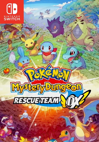 Pokemon Mystery Dungeon: Rescue Team DX - Switch