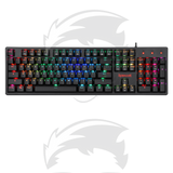 Redragon KAMA Wired USB RGB LED Backlit Mechanical Gaming Keyboard