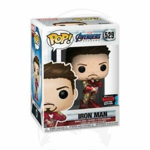 Pop! Marvel: Avengers Endgame - Iron Man w/Guantlet (NYCC Exc)