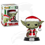 POP! Stars Wars: Holiday - Santa Yoda
