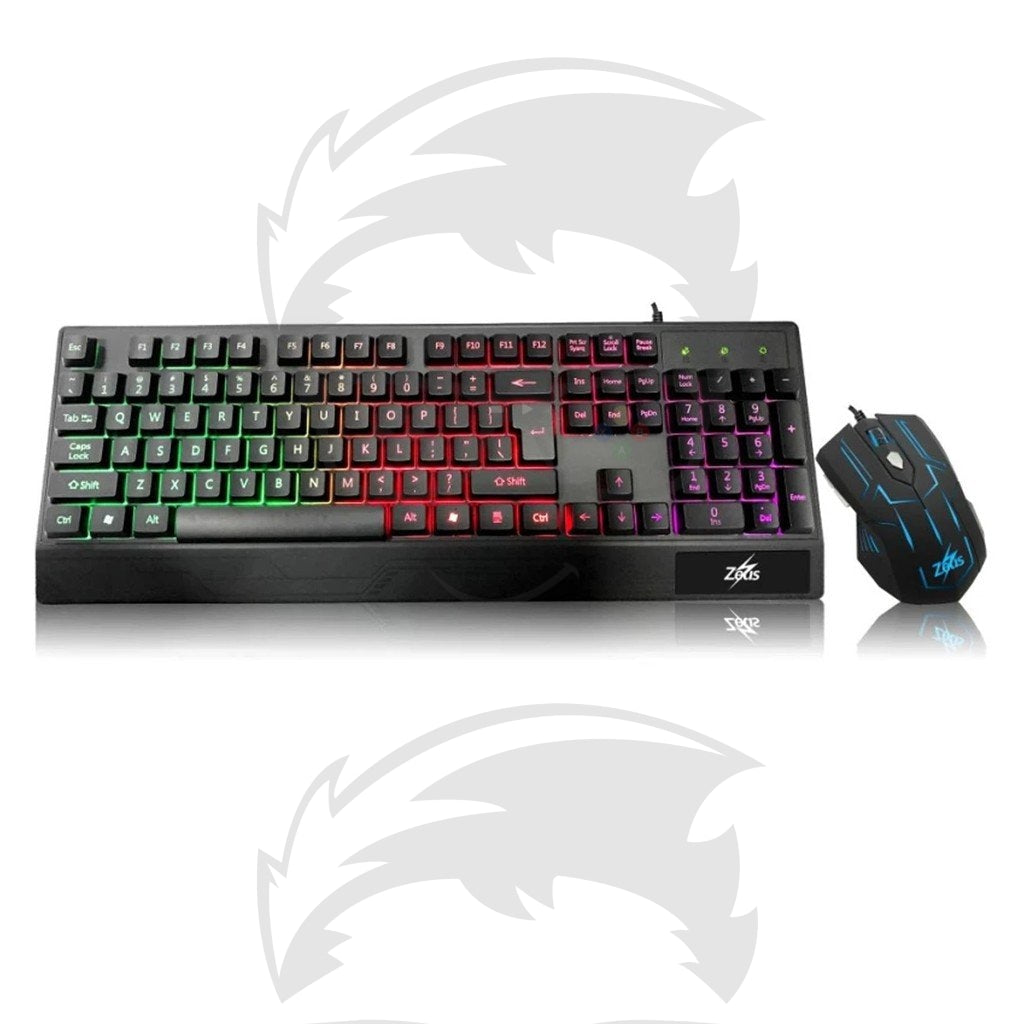 Zeus M-710 Gaming Keyboard and Mouse Bundle