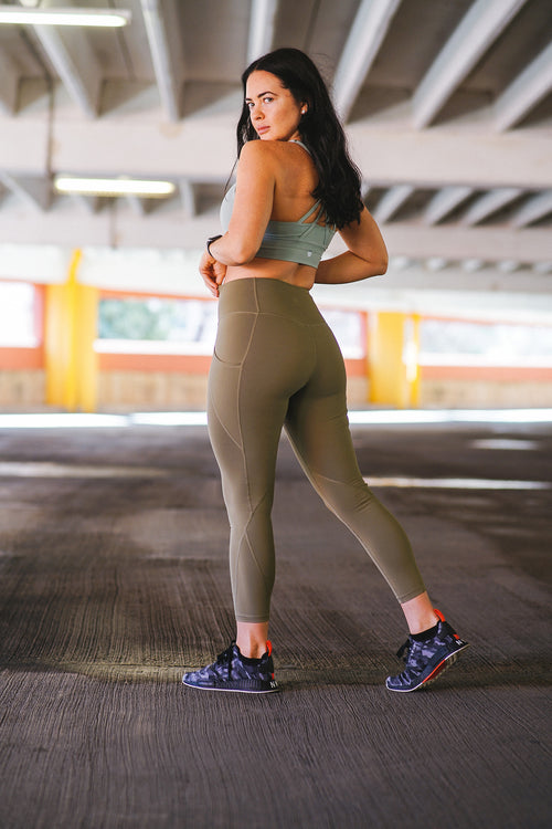 Fearless Leggings - Green