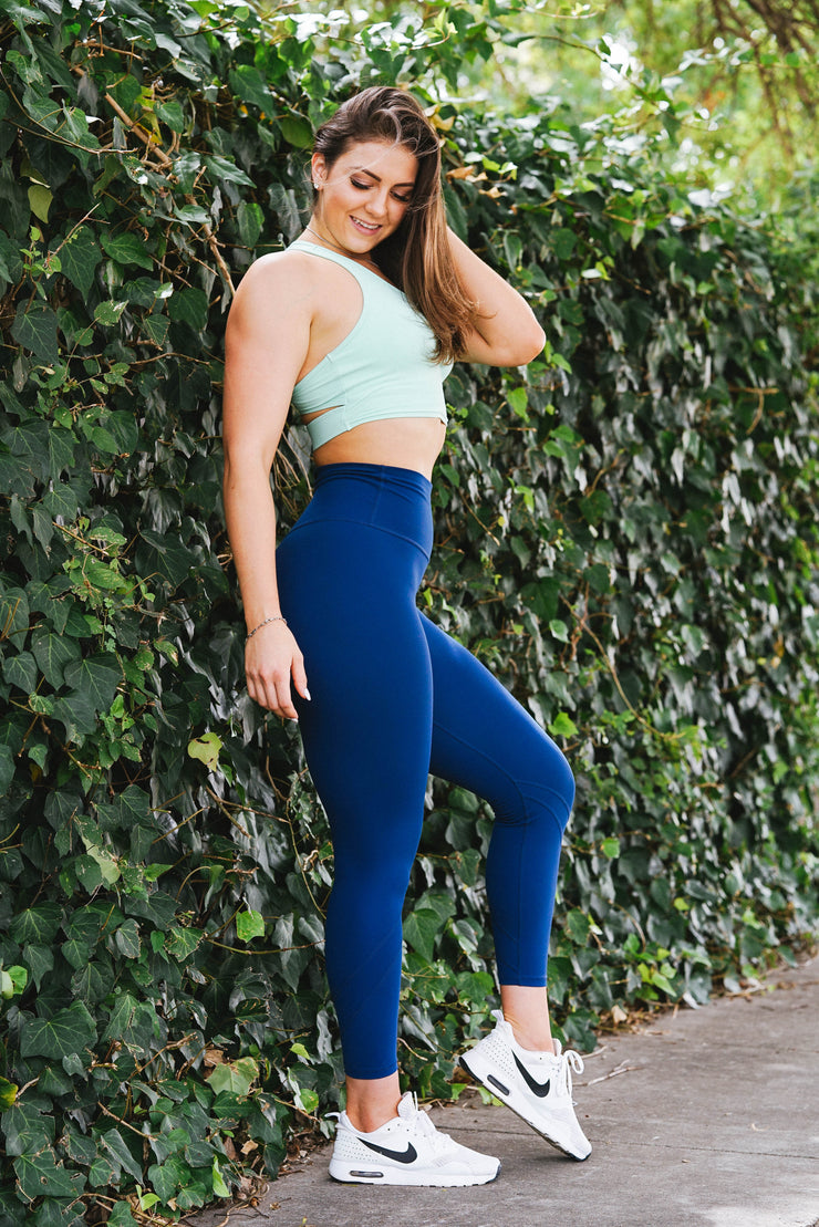 Oxygen Legging - Deep Ocean Blue
