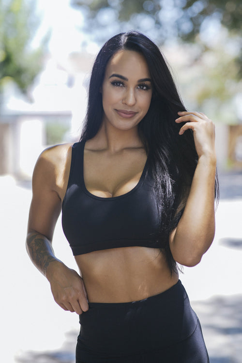 The Black Ladder - Sports Bra