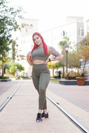 Dreamy Leggings 3.0 - Olive
