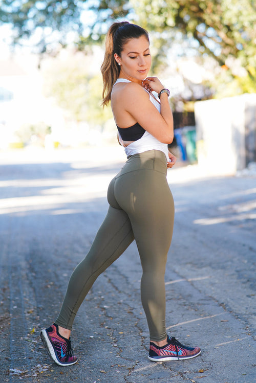 Dreamy Leggings - Sage