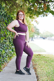 Dreamy Leggings 3.0 - Plum
