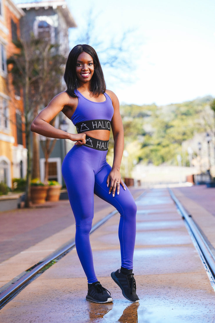 The Power Legging - Amethyst