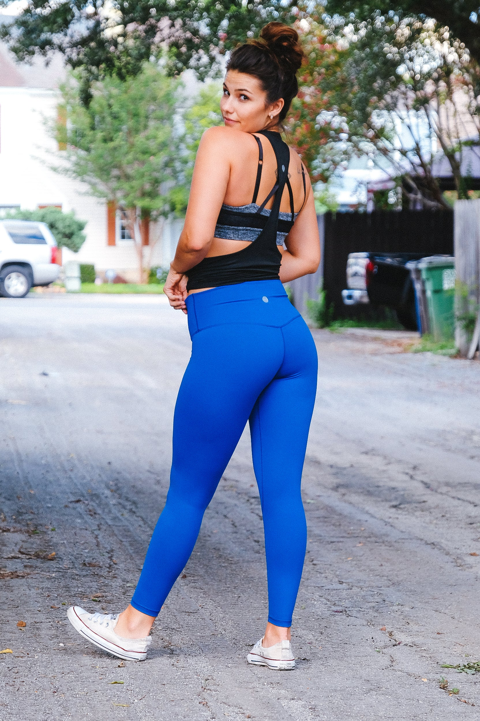 Dreamy Leggings - Cobalt Blue