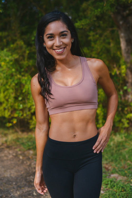 The Blush Ladder - Sports Bra