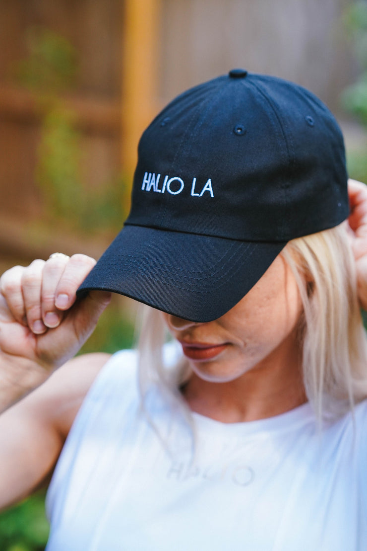 Halio Dad Hat - Black