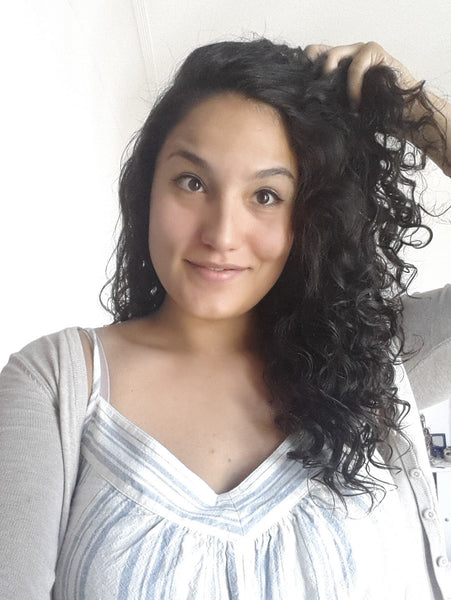 My HappyCurls washing routine