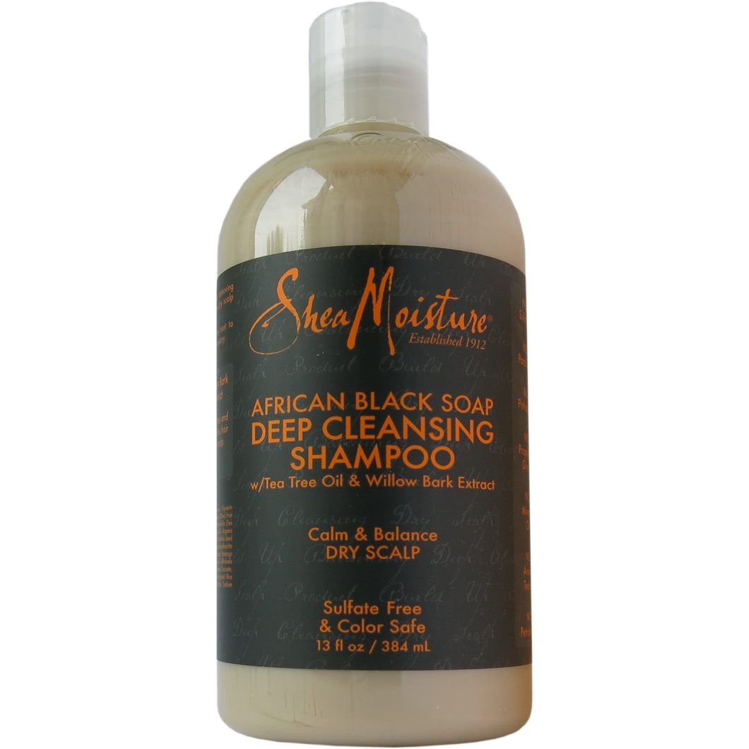 Shea Moisture - African Black Soap Deep Cleansing Shampoo