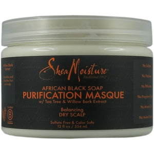 Shea Moisture - African Black Soap Purification Masque