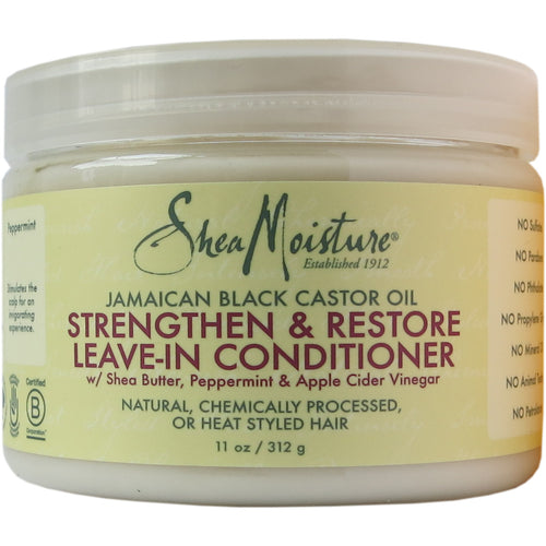 Shea Moisture - Jamaican Black Castor Oil Strengthen & Restore Leave-in Conditioner