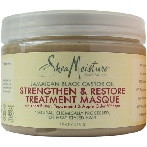 Shea Moisture - Jamaican Black Castor Oil Strengthen & Restore Treatment Masque