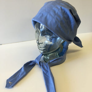 SCARF & TIE SET - CHAMBRAY BLUE