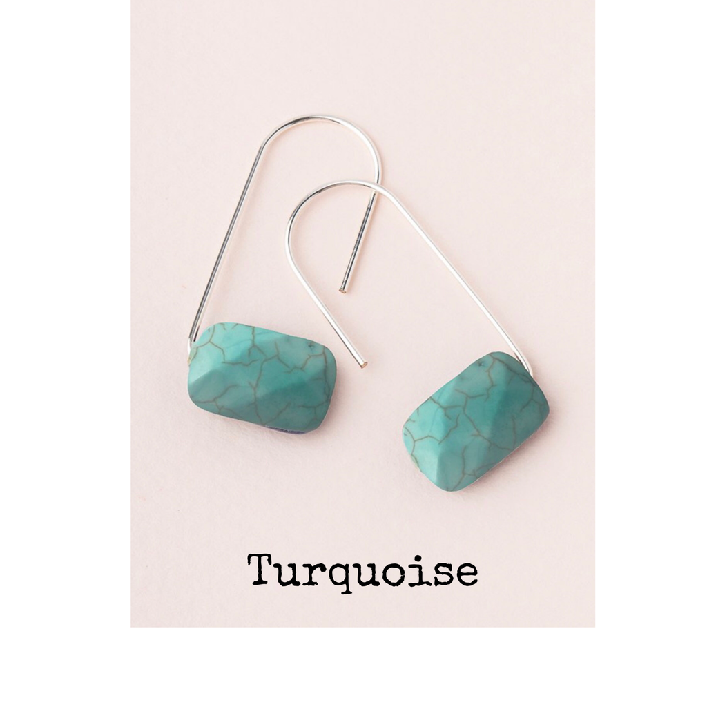 Scout Floating Stone Earring