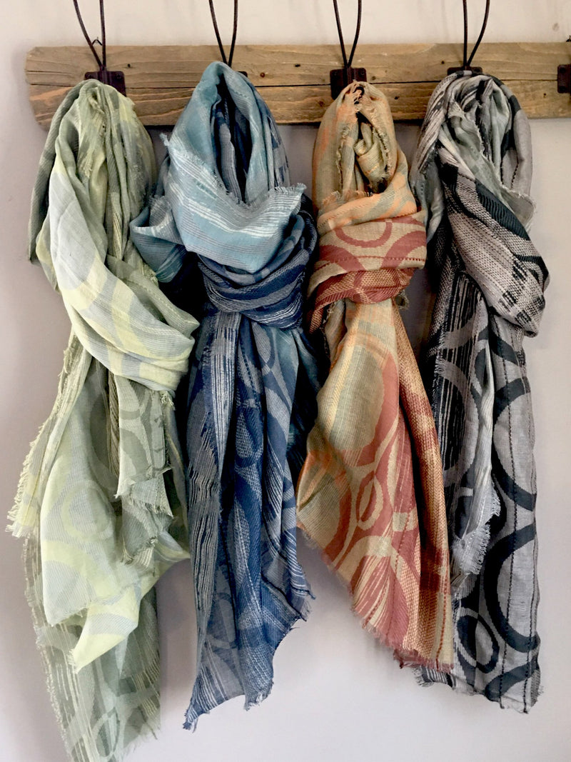 Ombre Circles Scarf