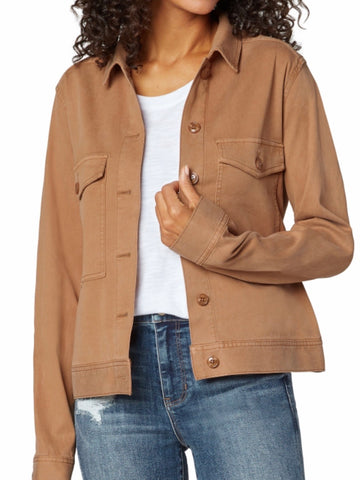Copper Button Jean Jacket