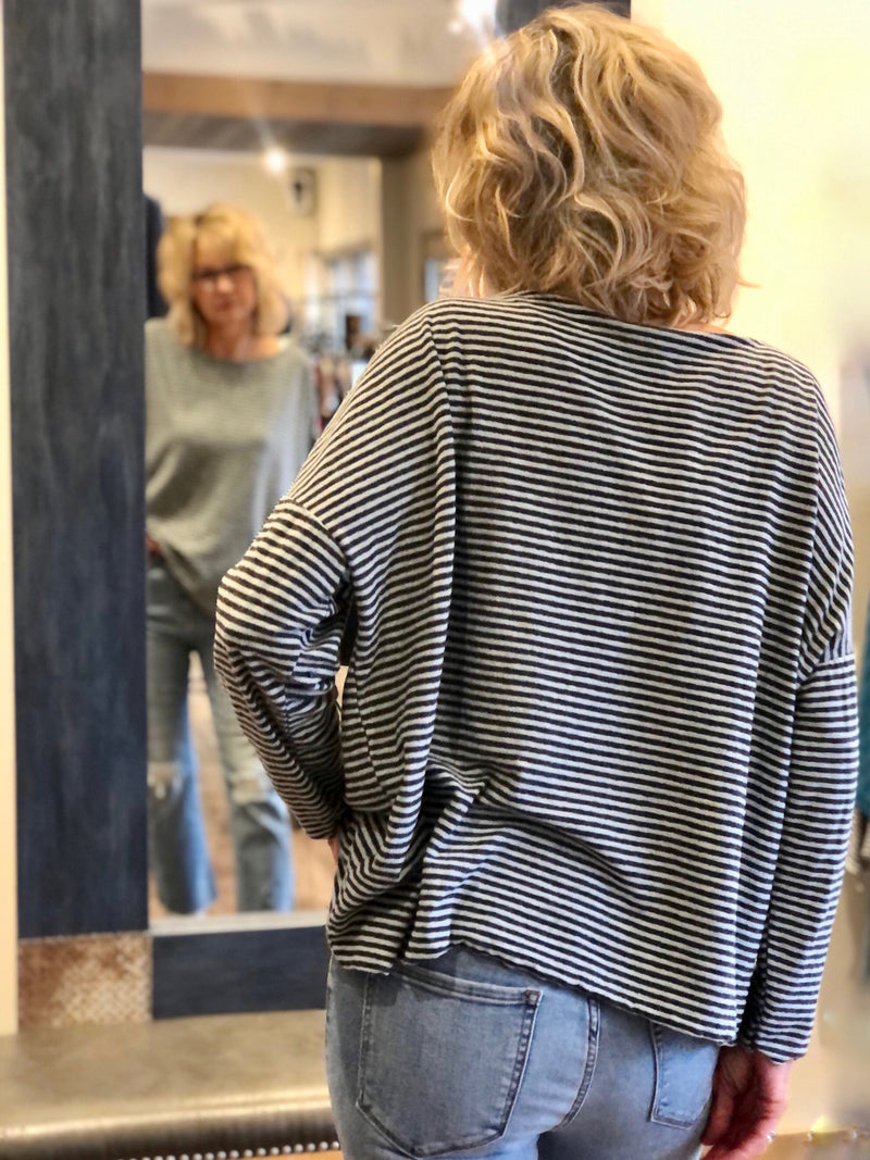 Simply Stripe Pullover