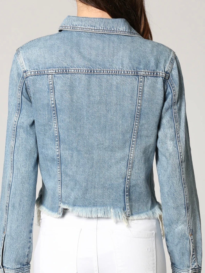 Betty Distressed Jacket