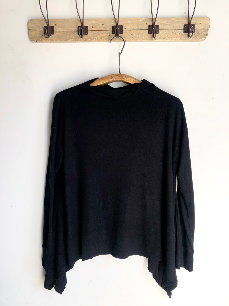 Cozy Poncho Top