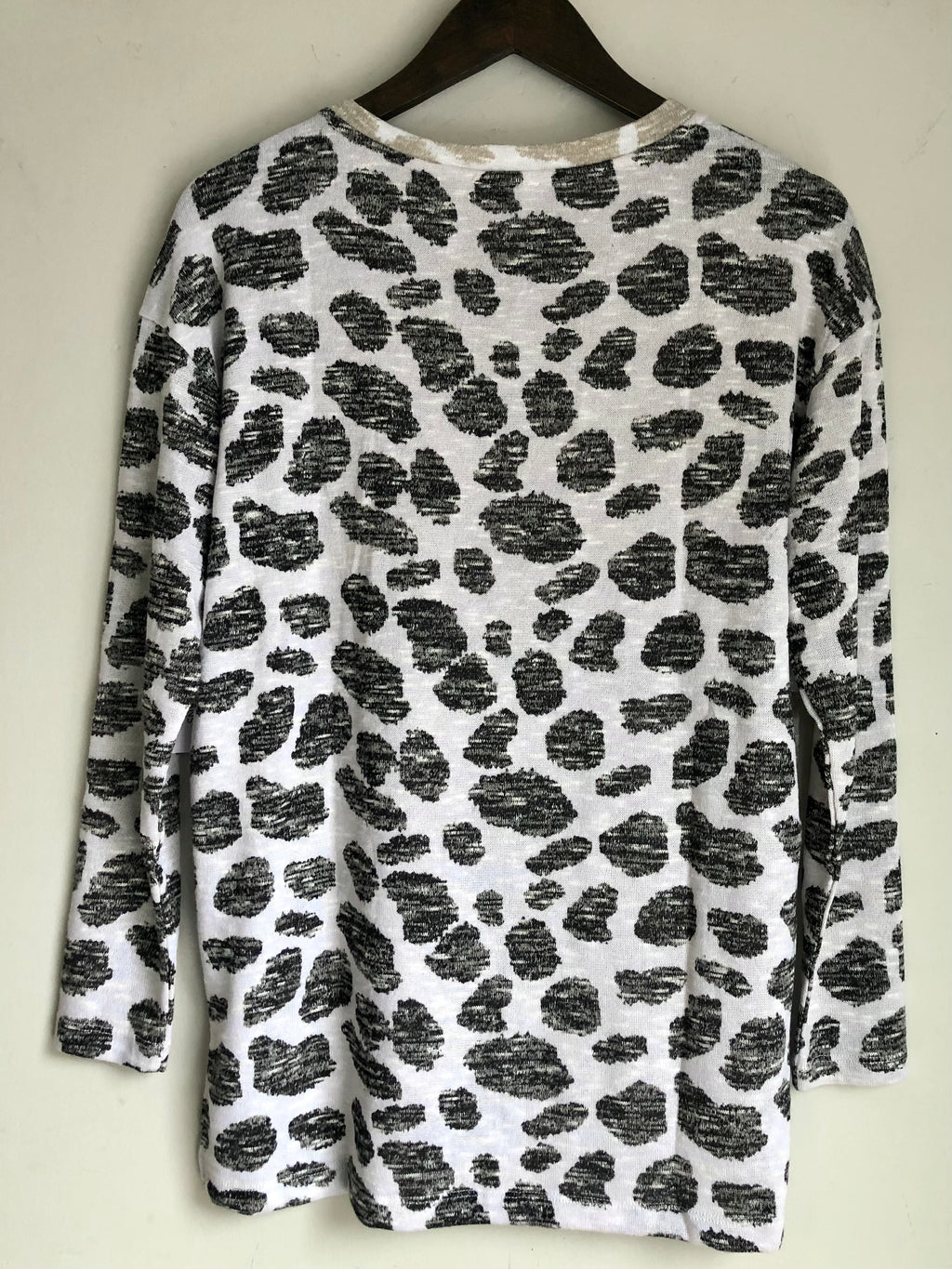 Double Leopard Dot Sweater