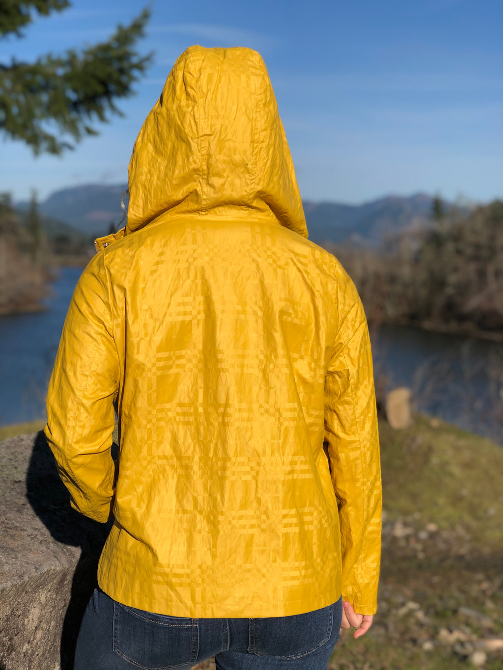 Sunshine and Dots Hooded Jacket
