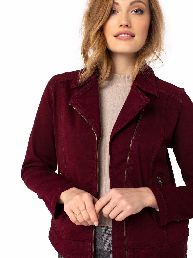Ruby Port Moto Jacket