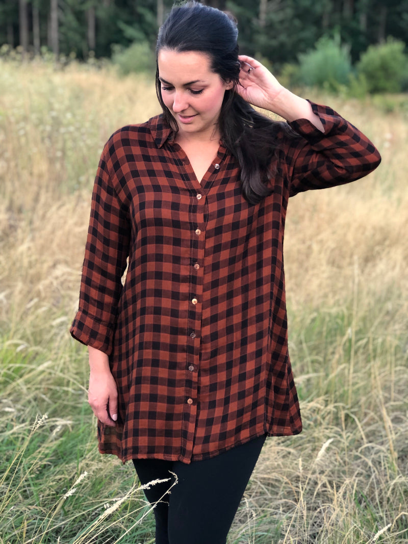 Cutloose Rusty Nail Check Top