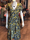 Buttercup Wrap floral dress