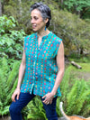 Taos Turquoise Sleeveless top